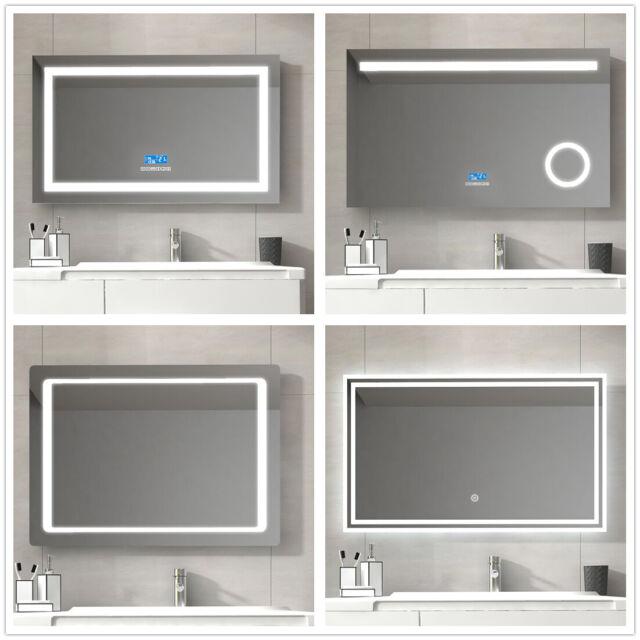 New Anti Fog Shower Mirror Bathroom Fogless Fog Free Mirror Washroom Travel