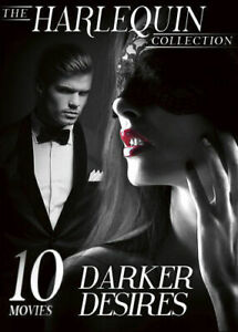 The Harlequin Collection: Darker Desires - 10 Movies (DVD, 2017, 3-Disc Set)