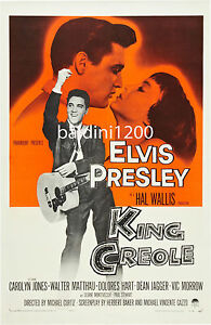 ELVIS-PRESLEY-KING-CREOLE-HIGH-QUALITY-VINTAGE-MOVIE-MUSIC-POSTER