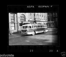 Autocar car bus ancien - ancien négatif photo 35mm deb. XXe s.