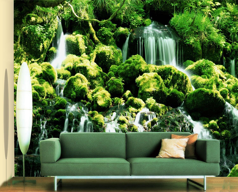 3D Bosquet L'eau 55 Photo Papier Peint en Autocollant Murale Plafond Chambre Art