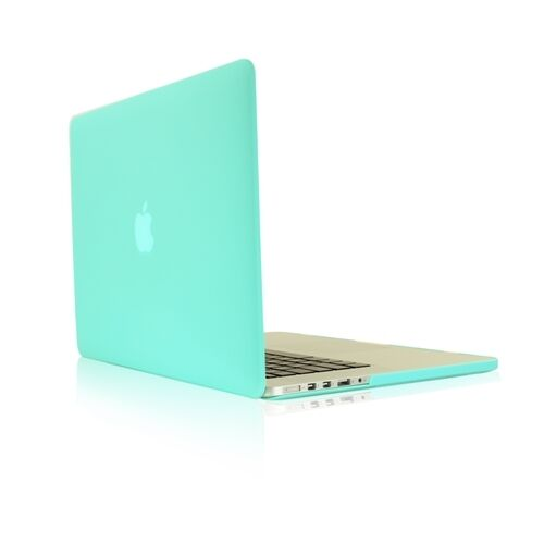 "TIFANY BLUE Rubberized Case for NEW Macbook Pro 13"" A1425 with Retina display"