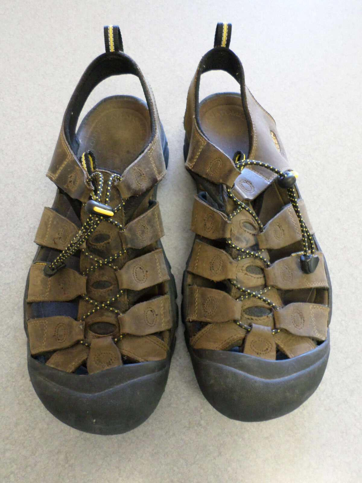 KEEN  Newport  brown waterproof leather sandals. Men's 12 (eur 46)