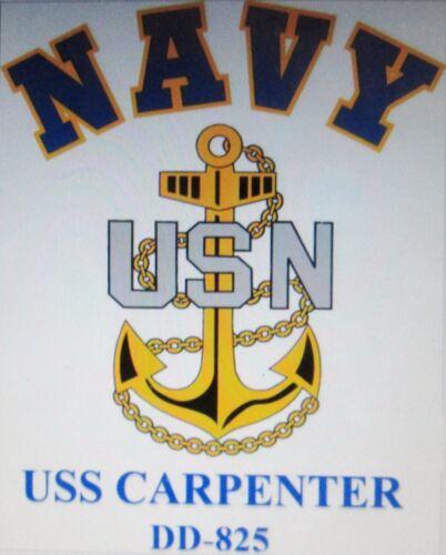 USS CONWAY  DD-507* DESTROYER U.S NAVY W// ANCHOR* SHIRT