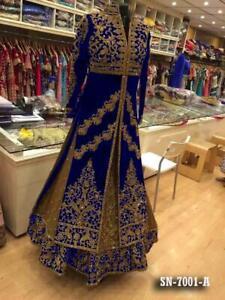 Indian anarkali salwar kameez suits lehnga designer pakistani wedding dress eid
