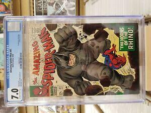 Amazing-Spider-man-41-CGC-ow-w-pages-1st-Rhino