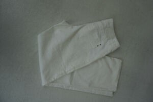 Mac-Love-amp-Pleasure-Women-039-s-Jeans-Straight-Stretch-Trousers-W32-L32-White-Top