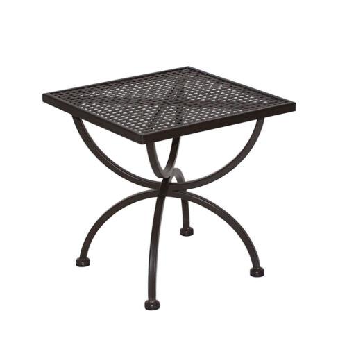 Beistelltisch Gartentisch Metalltisch Gartenmöbel Tisch ROMEO 50x50cm von MBM