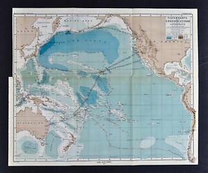 1877 mapa petermann ocano pacfico profundidad hawaii australia y 1877 mapa petermann oceano pacifico profundidad hawaii australia gumiabroncs Gallery