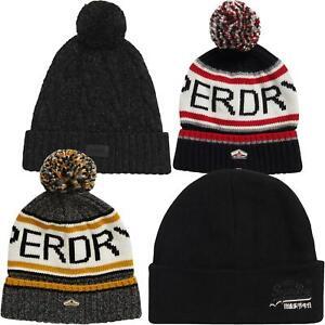 Superdry-Beanie-amp-Bobble-sombreros-estilos-surtidos