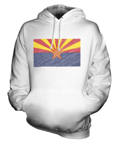 Griffonnage Unisexe Capuche À État Arizonian Arizona Cadeau Haut Sweat Drapeau wC4xqO
