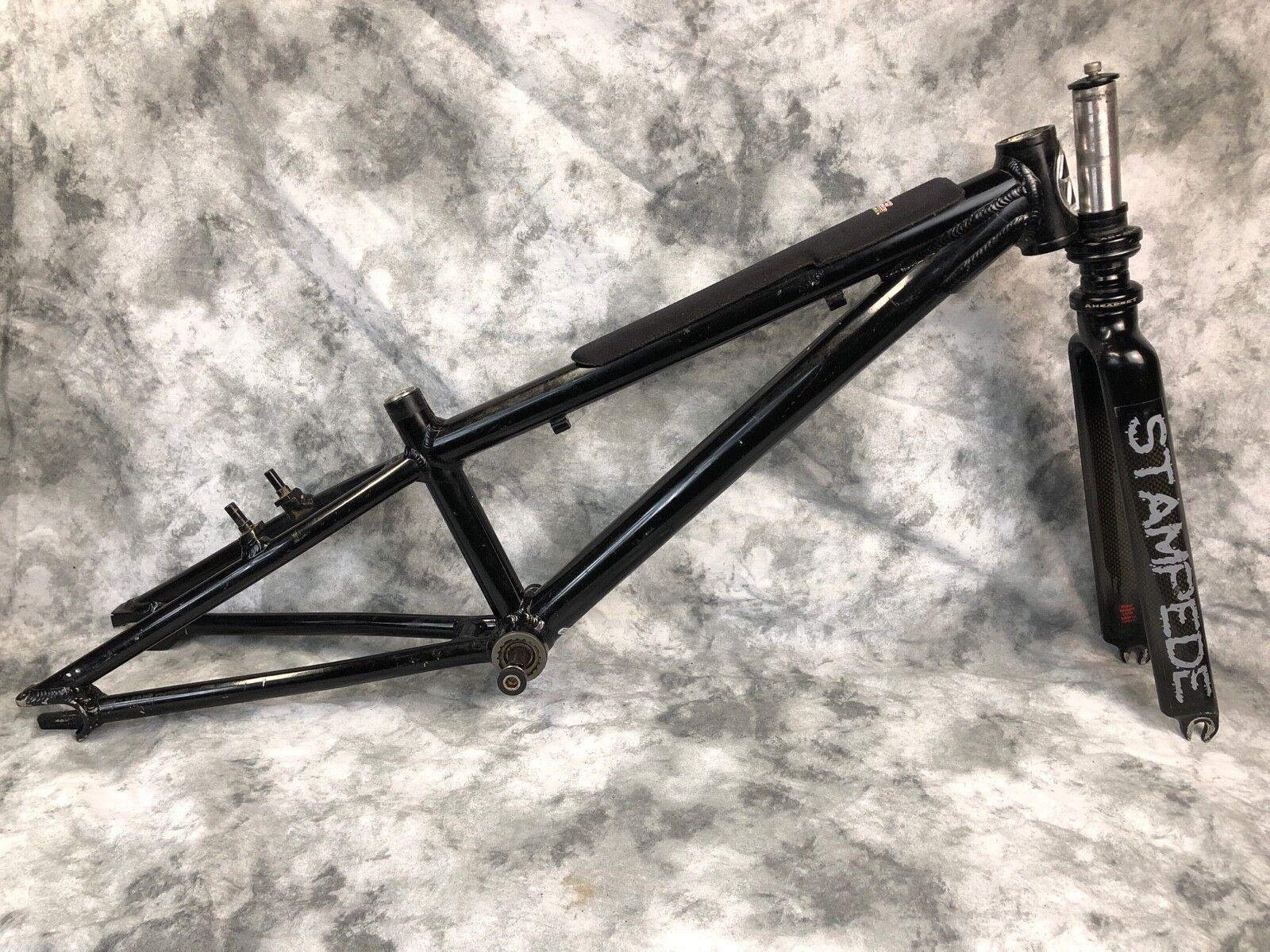 rojoline Micro Cuadro para Bicicleta De Carrera De De De Aluminio Mini y Stampede Horquilla de fibra de carbono 7e430d