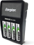 Energizer-Rechargeable-AA-und-AAA-Akku-Ladegeraet-Aufladen-Wert-mit-4-AA-1-PC Indexbild 1