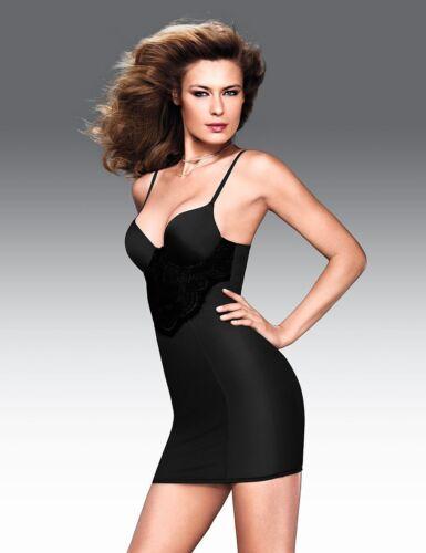 Flexees Pretty Shapewear Full Slip #2364 Black NWT