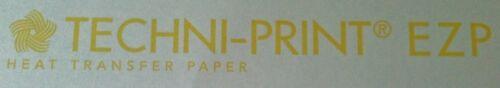 "/""NEENAH TECHNI-PRINT EZP/"" 8.5/""X11/"" 100 SHEETS LASER TRANSFER FOR WHITE FABRIC"