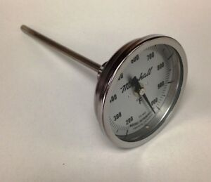 Industrial-Stack-Furnace-Thermometer-200-1000F-3-034-Dial-6-034-Stem-1-2-034-NPT