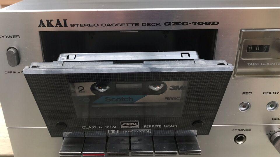 Båndoptager, Akai, GXC-706D