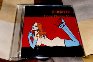 """E-Rotic - """"Baby please me"""" *Japan* *Rarität* without OBI"""