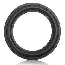 Black 6.5 Inch Speaker Surround  Circle Repair Foam For Bass Woofer Horn