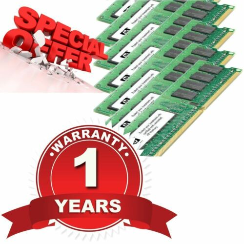 8GB 1X 8GB PC25300P DDR2667 240 Pins ECC REG Dual Rank equivalent 405478071