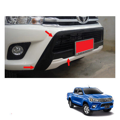 New Front Spotlight Cap Cover Chrome Trim Fit For Toyota Hilux Revo Rocco 2018