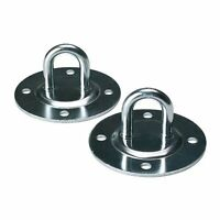 Ikea Suspension Ceiling Hooks Set Of 2 Steel Indoor Outdoor, New, Free Shipping on sale