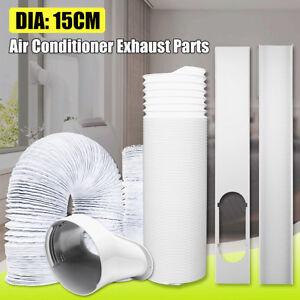 15cm Abluftschlauch Adapter PVC Fenster Anschlussstück für Mobile Klimageräte