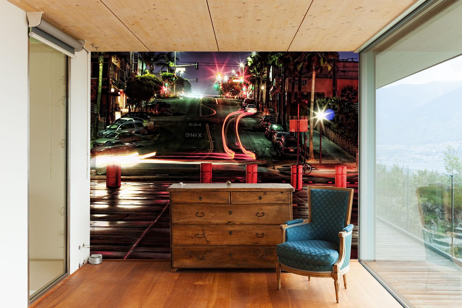 3D Steigung Straße Licht  74 Tapete Wandgemälde Wandgemälde Wandgemälde Tapete Tapeten Bild Familie DE | Bekannt für seine gute Qualität  | Zart  |  f75572