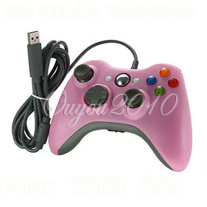 New-Wired-USB-Controller-Pad-for-Microsoft-Xbox-360-PC-Compatible-Pink