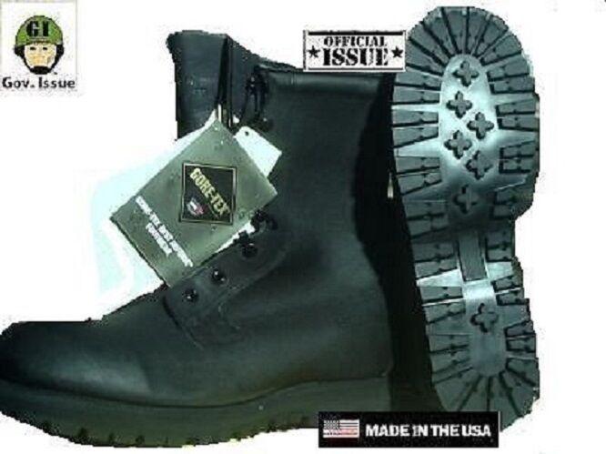 US Army Goretex Kampfstiefel Stiefel Stiefel Stiefel Lederstiefel Leather botas Negro 38 44b0d6