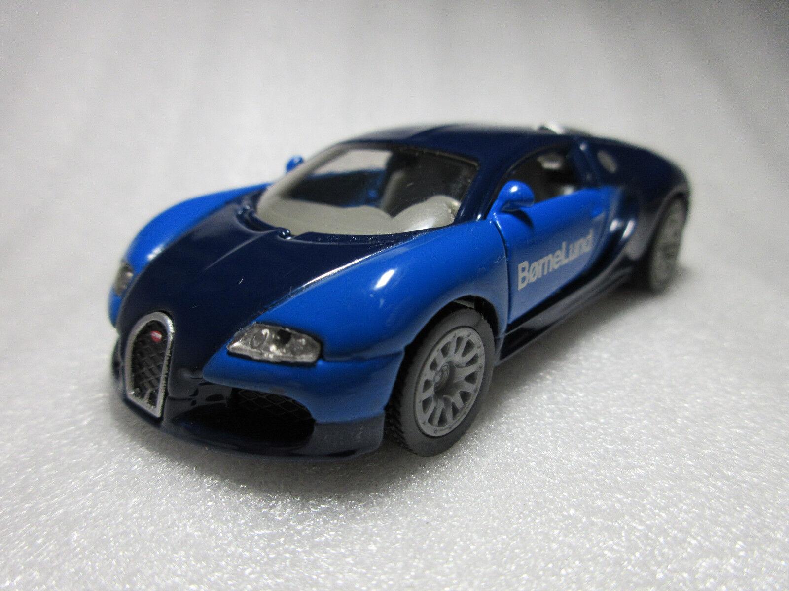 SIKU Bugatti Veyron Bornelund 2006 Exclusive Diecast Model Rare Promo NIB