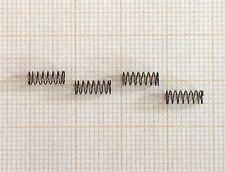 4 x Druckfeder, Länge 7,5mm, Außen Ø3,1mm, Drahtstärke 0,2mm