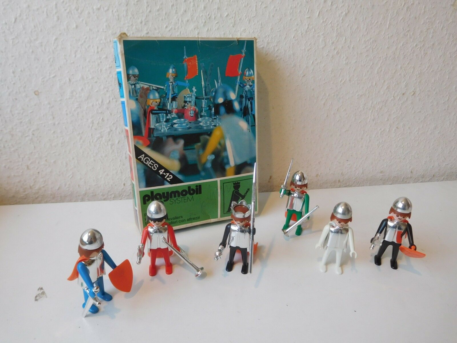 Playmobil set 3261 V1 knights  ovp 1974