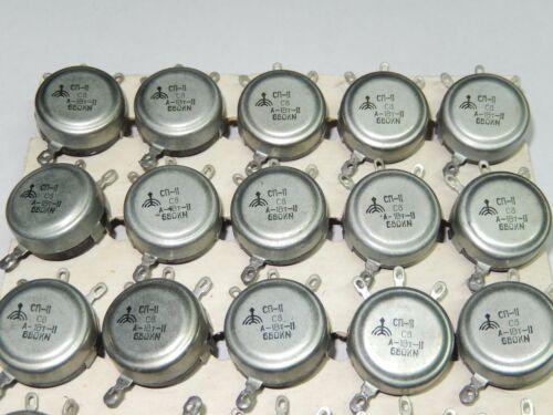 KΩ 1 Watt 680 kOhm //SP-2 Sovietik  Military Linear Potentiometer Lot of 2pcs