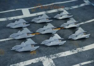 FX-35-Concept-Supersonic-Bomber-Attack-Fighter-Plane-Model-Figure-A633-A-9pcs