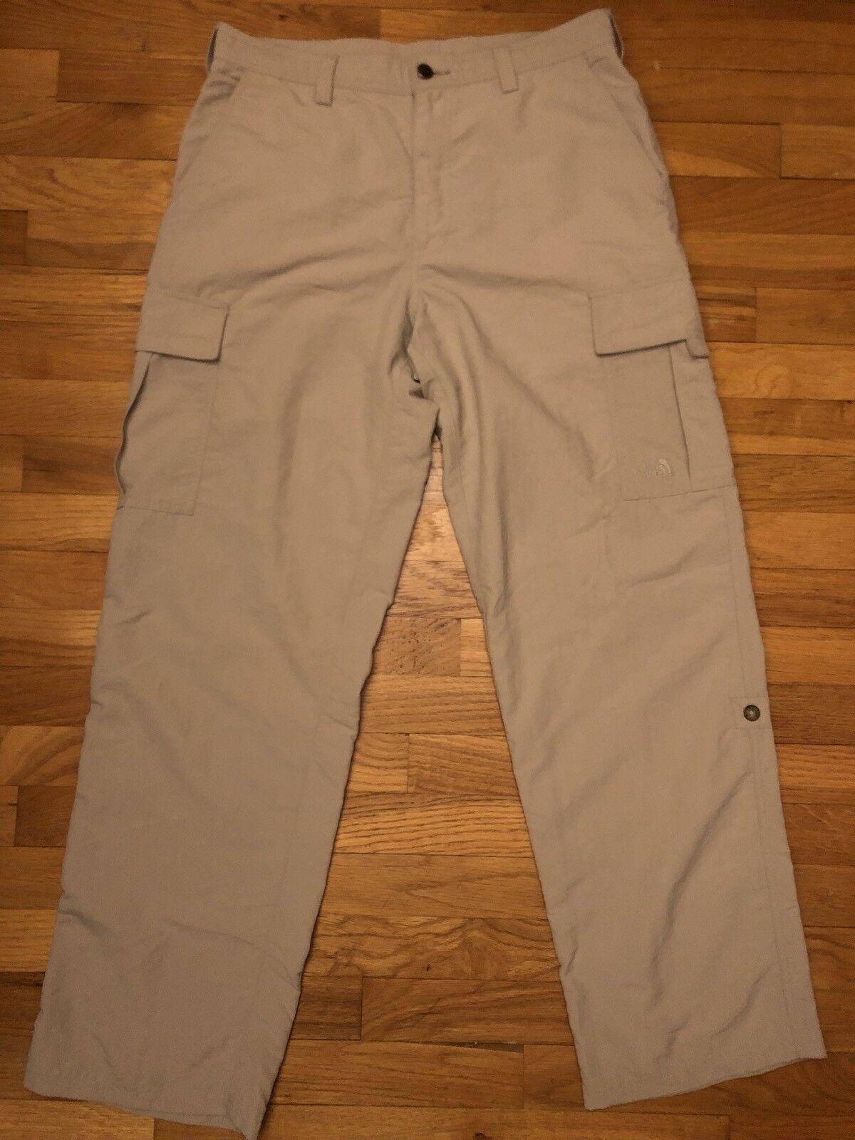 The North Face  Men's Lightweght Khaki color Unlined Wndbreaker Pants., 34x32  outlet online