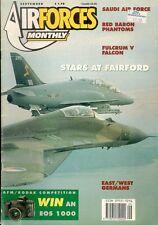 AIR FORCES MONTHLY 9/91 LUFTWAFFE JG 71 F-4F PHANTOM / exDDR Su-22 MIG-23 MIG-21