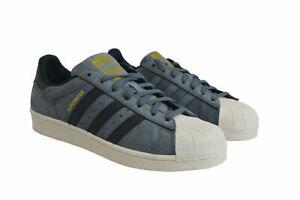 Details about Mens Adidas Original Superstar Trainer Shoes Green Black AQ0778 UK 7.5 EU 41 13