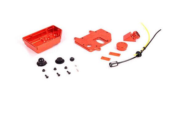Baja CNC metal fuel tank assembly assembly assembly Fits 1 5 hpi baja 5b 5t 5sc km rovan 1pc 835bb5