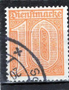 Deutsches Reich Dienstmarken,1921, Michel Nr.65, gestempelt