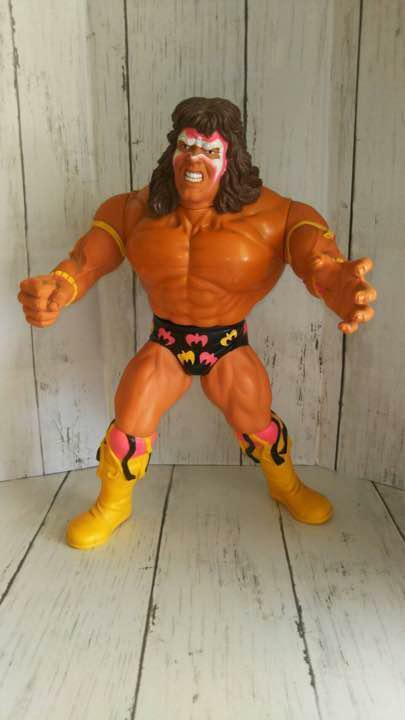 1990 Vintage TITAN SPORTS SPORTS SPORTS WWE Ultimate Warrior Action BIG Figure Sealed 7610b3