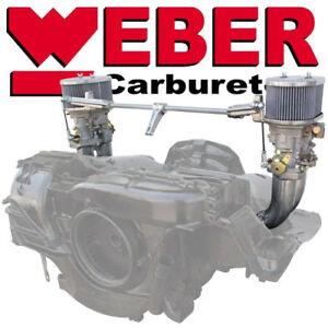 Details about DUAL 40 IDF WEBER CARBURETOR KIT, VW BUS, VW Type 2, VW Type  4, AND PORSCHE 914