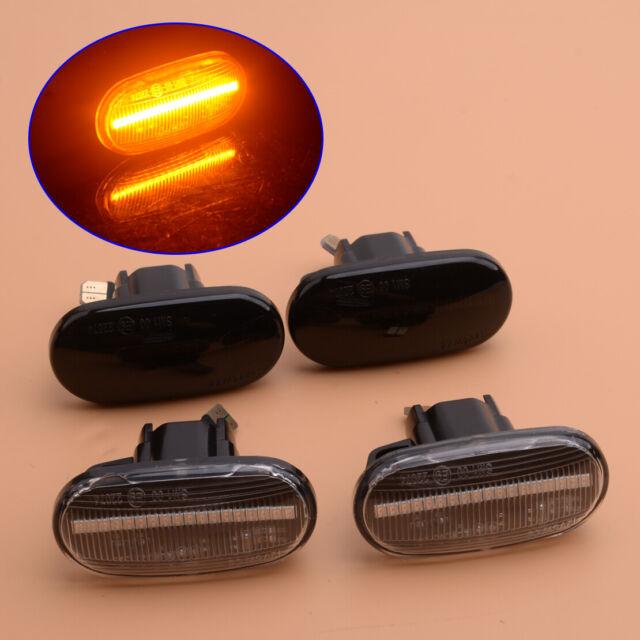 2Pcs Static LED Side Marker Signal Light Fit For Honda