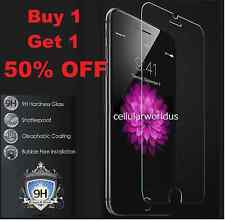 "Premium Real Tempered Glass Film Screen Protector for Apple iPhone 6 Plus 5.5"" Red"
