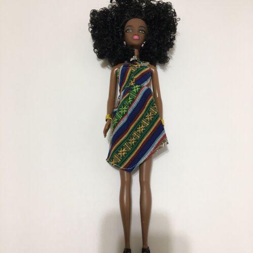 New  African Black Ethnic Fashion Doll