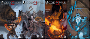 2019-Dark-Horse-Comics-GOD-OF-WAR-1-2-3-4-Complete-Set-Sony-PS4-1-4
