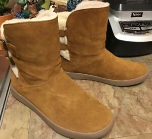 248e68947e2 Details about KOOLABURRA BY UGG Amarah Chestnut Bootie Sz 7M NEW