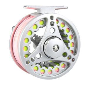 1-2-3-4-5-6-7-8WT-Fly-Fishing-Reel-Combo-Large-Arbor-Aluminum-Reel-amp-Fly-Line