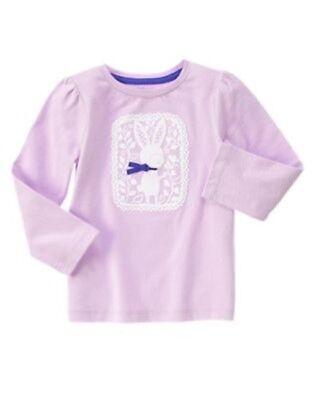 GYMBOREE LAVENDER BUNNY PURPLE BUNNY SWEATER DRESS 6 12 18 24 2T 3T NWT