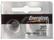 1 pc Energizer 393/309 SR754 LR754 SR48 LR48 AG5 193 V393 D393 RW28 S15 Battery
